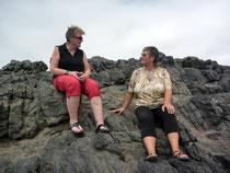 Mit Tanja auf Alfons Lieblingsfelsen