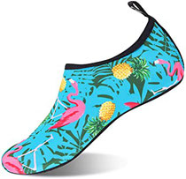 IceUnicorn Schwimmschuhe Damen Herren Strandschuhe Surfschuhe