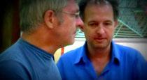 Uwe Brunn mit Robert Kühn