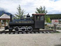 Carcross - sie fuhr 1900 - ca. 1920 vom Tagish Lake zum Atlin Lake
