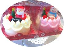 クリスマスケーキキャンドル