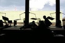 07. März 2009 Im Hintergrund das KKL