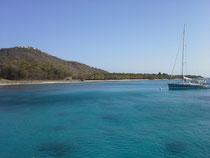 Küste von Mustique