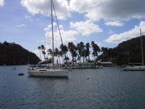 Marigot Bay Blick gegen Westen