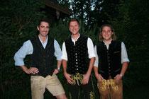 Die drei Betreiber: Peppi Kalteis, Christopher Huber und Mario Mittermeier (v.l.)