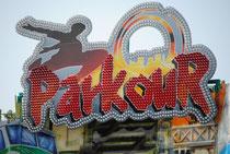 Parkour: Eine der Wiesnneuheiten 2010