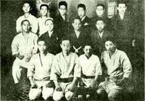 Members of Motobu-ryu in the Taisho Period, Osaka, 1926