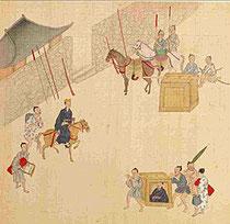 From the record Sappo Ryukyu Zenzu, 1719