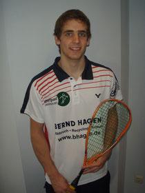 Gab perfektes Debüt für den SVN und passt perfekt ins Team: Adam Murrills (22)