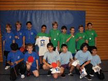 Siegermannschaften der 6. Klassen