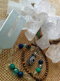日本音叉ヒーリング研究会代表のお気に入りの天然石とアクセサリー