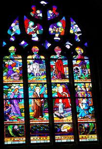 Kirchenfenster in St. Ronan