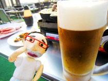仕事のあとの生ビールは最高~♡