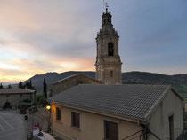 Sonnenaufgang in Villamayor de Monjardin