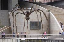 Maman, vor dem Guggenheimmuseum in Bilbao