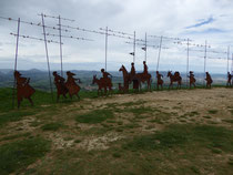 Auf dem Alto del Perdón