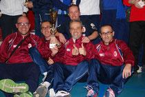 Reggio Emilia, campeón por equipos. Imagen tomada de la web de la FISTF