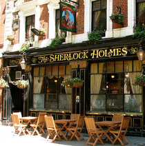 The Sherlock Holmes, 10-11 Northumberland Street (Westminster)