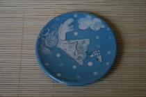 kleiner Engelteller  Ø ca. 10 cm  Artikel - Nr. 1135