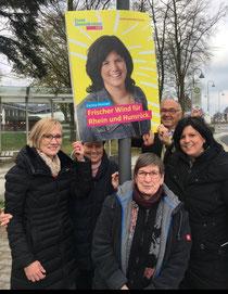 Plakatstart Kommunalwahl 2019