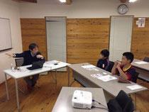 初日は富士校。生徒は小学5年生。
