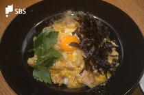 「塔子」の「トロトロ親子丼」。ようやく念願叶って食べることができました^^