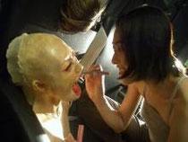 お化け屋敷の作り方 リアルなお化け屋敷人形の制作風景  http://obakeyashiki.jimdo.com