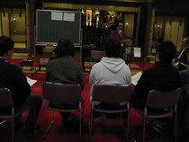 親御さん・支援者の方13名・元当事者が6名参加して下さいました。