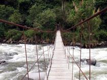 Einer der Flüsse im Intag Tal