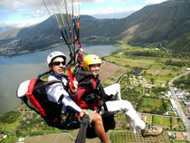 Paragliding in Ibarra