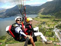 Paragliden in Ibarra