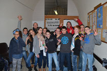 l'équipe du Teen's Club D'Yssingeaux