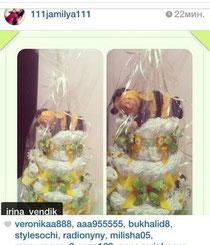 Отзыв в Instagram от  111jamilya111