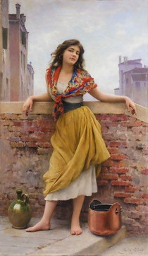 EUGENE DE BLAAS - The Watercarrier
