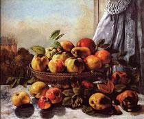 GUSTAVE COURBET - Natura morta. Frutti (1871)