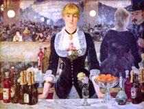 EDOUARD MANT - Le bar des Folies Bergère (1881)