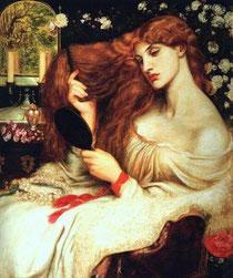 DANTE GABRIEL ROSSETTI - Lady Lilith