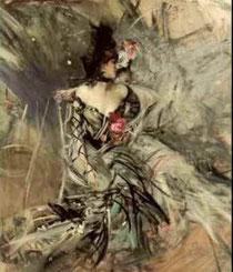 GIOVANNI BOLDINI - Ballerina spagnola al Moulin Rouge
