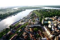 Blick auf die Stadt Belgrad