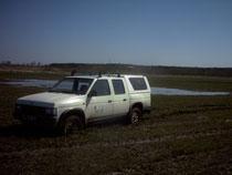 Flächenvermessung mit GPS