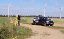 Erweiterung eines Windparks