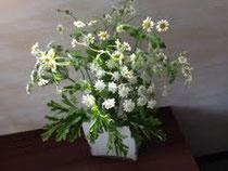 グリーンベースのお花