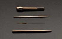 様々な種類の鍼