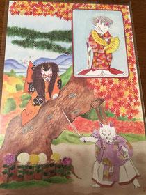 歌舞伎座 ポストカード