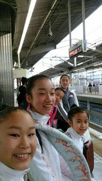 元気に京都駅を出発🎵