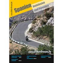 Motorrad Reisebericht über Spanien für Motorradfahrer als PDF in Druckqualität erhältlich.