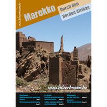 Motorrad Reisebericht über Marokko für Motorradfahrer gedruckt erhältlich.