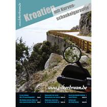Motorrad Reisebericht über Kroatien für Motorradfahrer gedruckt erhältlich.