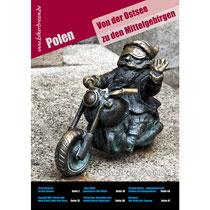 Motorrad Reisebericht über Polen für Motorradfahrer als PDF in Druckqualität erhältlich.