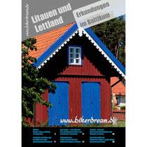 Motorrad Reisebericht über Litauen und Lettland für Motorradfahrer als PDF in Druckqualität erhältlich.
